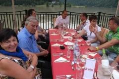 Sommermeeting Schlögen 2012 Abendessen